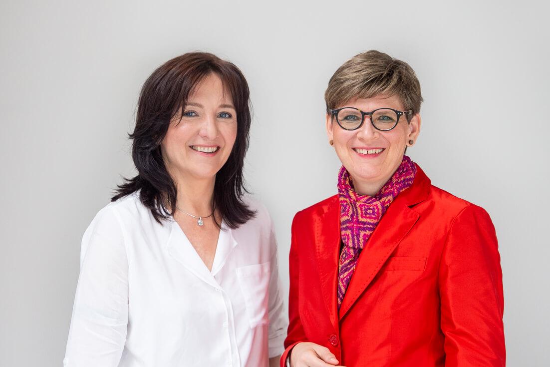 Dr. Simone Rappel und Dr. Sonja Lichtenstern